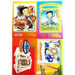 MGMGRANDポストカード4種セット69絵葉書ベティブープベティちゃんBettyBoop